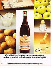 PUBLICITE  1974   PREFONTAINES   vin