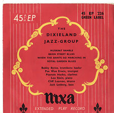 "The Dixieland Jazz Group - 7"" Ep c1950's"