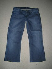CITIZENS OF HUMANITY KELLY LOW WAIST BOOTCUT CROPPED CAPRIS STRETCH JEANS 28