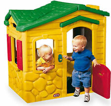 casetta bambini gioco giardino esterno campanello con suoni lavello e fornello