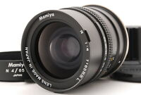 [A- Mint] Mamiya N 65mm f/4 L MF Lens for Mamiya 7 7II w/ Hood From JAPAN 6915