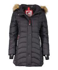 NEW   Canada Weather Gear  Faux Fur Trim Hood Satin Puffer Coat Size  XL