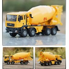 Alloy Diecast Cement Mixer Truck 1:50 Concrete Lorry Truck