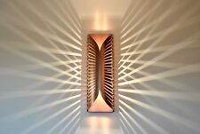 Modern Unique Contemporary Handmade Designer Wall Lamp Light RAYS 3 COPPER