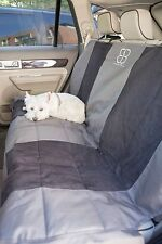 Petego EB Velvet Multi Fabric Rear Seat Cover Protector XLG Black and Anthracite