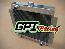 3 Rows Aluminum Radiator for Ford Escort Mk1 Mk2 RS2000 1968-1980 70 71 Manual