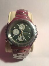 Seiko Macchina Sportiva 7T32-6J00 Giugiaro Chronograph Quartz Mens Watch  *GREEN