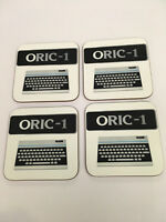 Oric - 1 Early Home Computer enthusiast COASTER SET