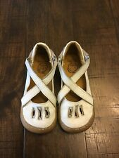livie and luca size 10 White Criss Cross Leather Shoes