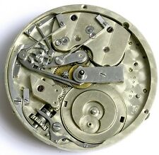 SWISS LEVER HIGH GRADE CHRONOGRAPH POCKET WATCH MOVEMENT SPARES OR REPAIRS F34