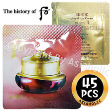 The history of Whoo Jinyulhyang Jinyul Eye Cream 1ml x 45pcs (45ml) Sample