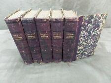 TRAITE DE PATHOLOGIE EXTERNE. Par Auguste Vidal. 1851.