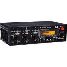 Fostex Dc-r302 Professional 3 Channel Portable Audio Mixer Recorder