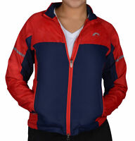 More Mile Wind Womens Light Running Cycling Rain Jacket Lightweight Packable Red