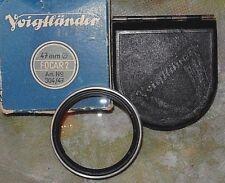 Voigtlander 47mm Focar 2 Close Up Filter f/ Early 50/1.5 Nokton Original/Germany