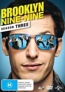 Brooklyn Nine-Nine : Season 3 (DVD, 3-Disc Set) NEW