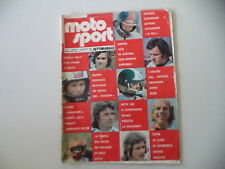 MOTOSPORT 14/1974 PICCOLA PROVA AMF HARLEY DAVIDSON 350 SS/HONDA CB 350 FOUR