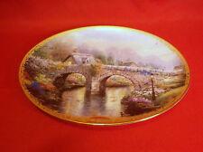 Thomas Kinkade's Lamplight Village/Lamplight Bridge Le plate#16123A-6th issue