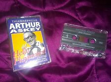 ARTHUR ASKEY HELLO PLAYMATES BEE SONG BRITISH COMEDY STAND UP CASSETTE RARE MINT