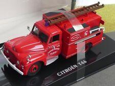 1/43 NOREV CITROEN t46 1962 Pompiers Pompier pompe Guinard 159988
