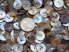 "Wholesale White Pearl MOP Buttons Real shell agoya 5/8"" bulk 15MM 24L 2H 250 pcs"