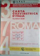 Geologia: carta gravimetrica d'Italia (Roma 374)