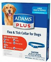 ​Adams Plus Flea & Tick Collar for Large Dogs & Puppies Up to 7 month Protection