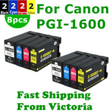 8x Canon Compatible PGI1600XL PGI 1600XL ink Cartridge For MB2060 MB2360 MB2760