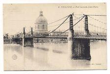 toulouse pont suspendu saint-pierre