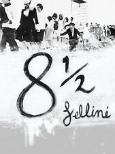 8½ 1963 Federico Fellini Retro Movie Poster Serie A0-A1-A2-A3-A4-A5-A6-MAXI 369