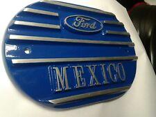 escort mk1 mk2 mexico alloy k&n air filter top,new blue