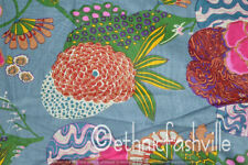 Indian New Cotton Fabric Running Craft Material Loose Sewing Screen Print 1 Yard