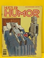 Hustler Humor May 1979 Magazine Adult Comic Book - Adult Cartoons ROBOT SEX