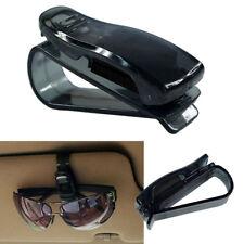 Clip de montaje de visera de sol coche Pluma billete de almacenamiento de información Clip de portatarjetas Ojo Gafas