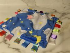 LAIMALA Baby Teething Cloth Blanket Soft Blankie Tags  (*5b)