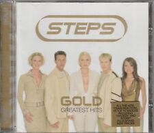 2001 - STEPS - GOLD CD - GREATEST HITS ALBUM
