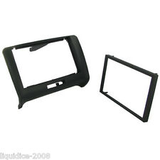 CT24AU24 AUDI TT TYP 8J 2006 to 2014 BLACK DOUBLE DIN FASCIA ADAPTER PANEL CAR