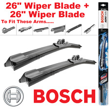 Flat MERCEDES CLS320 C219 3.0D 2x Wiper Blades Pair Aero type Front 05 to 10
