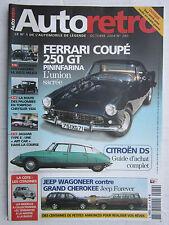 AUTO RETRO N° 280 /FERRARI 250 GT COUPE/DS/CHRYSLER 1924/HOTCHKISS 680 CABOURG