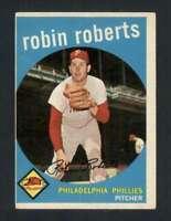 1959 Topps #352 Robin Roberts EX/EX+ Phillies 122852