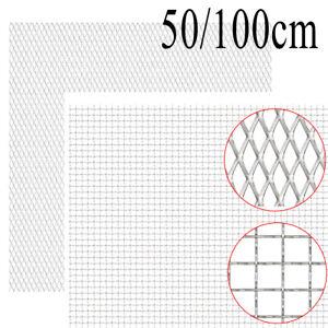 Gittermatte Streckmetall Edelstahl Wellengitter Gitter Drahtgitter Barriere 1 M