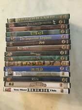 Lot of 15 Feature Films For Families Movie Dvd Lone Star - White Wolves Rare OOP
