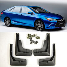 4 Pieces OE Set Front Rear Splash Mud Guards Flap Kit For 2015-2017 Toyota Camry