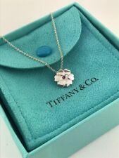 """Tiffany & Co. Paloma Picasso Crown Of Hearts Pink Sapphire 16"""" Necklace  (#1048)"""