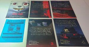 STRAY DOGS #1 1 2 3 4 VARIANT 1ST PRINTS NM SET IMAGE COMICS 2021 MOVIE + PROMO
