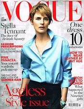 VOGUE UK 07/2015 STELLA TENNANT Sophia Ahrens KATARINA JOHNSON Kirsten Owen EXCL
