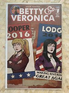 Betty and Veronica 1N Isaacs Variant NM 2016 Stock Image Election Variant