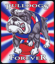 1  x WESTERN BULLDOGS OR OTHER AUSSIE RULES MOUSE MAT / SMALL PLACE MAT