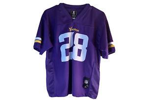Adrian Peterson Minnesota Vikings #28 Football Jersey Youth Size: L (14-16)