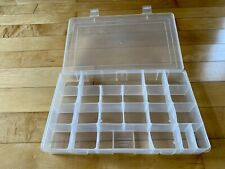 2 Large Divider Boxes Ideal For Storing Small Items